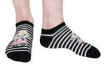 Martinex Moomin Little My And Stripes Socks Black