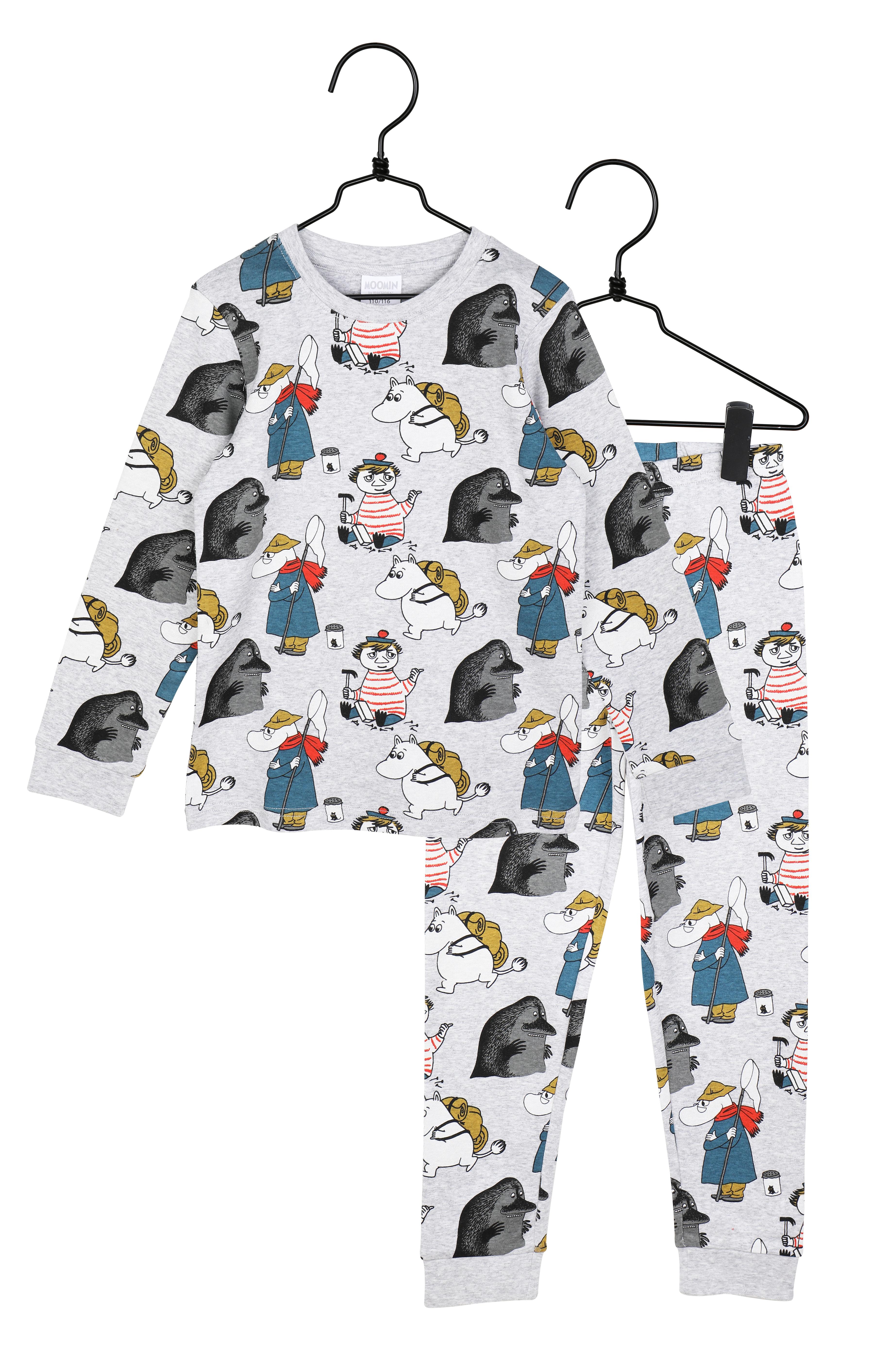 Martinex Moomin Yikes Pyjamas Gray
