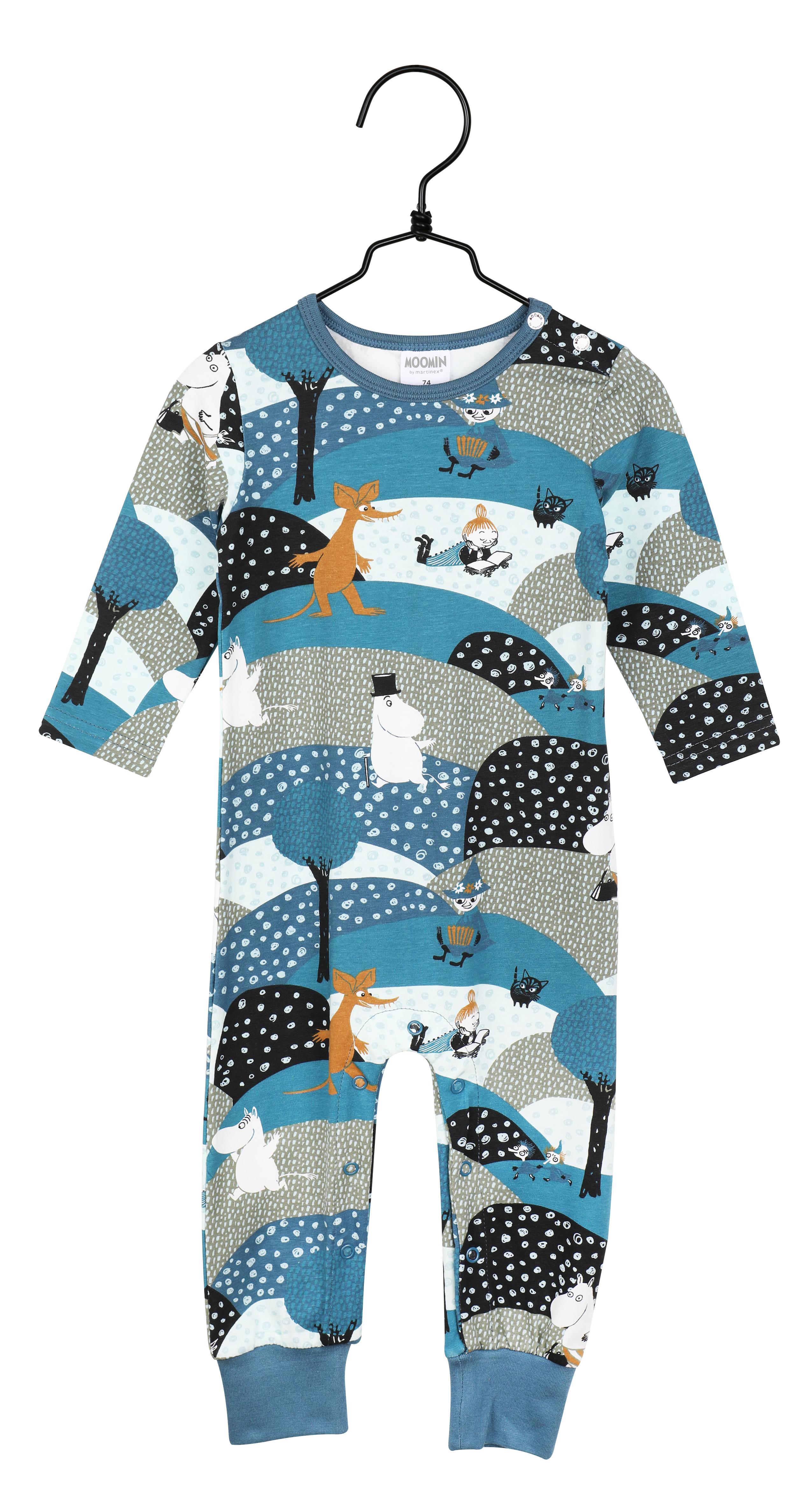 Martinex Moomin Moor Pyjamas Blue