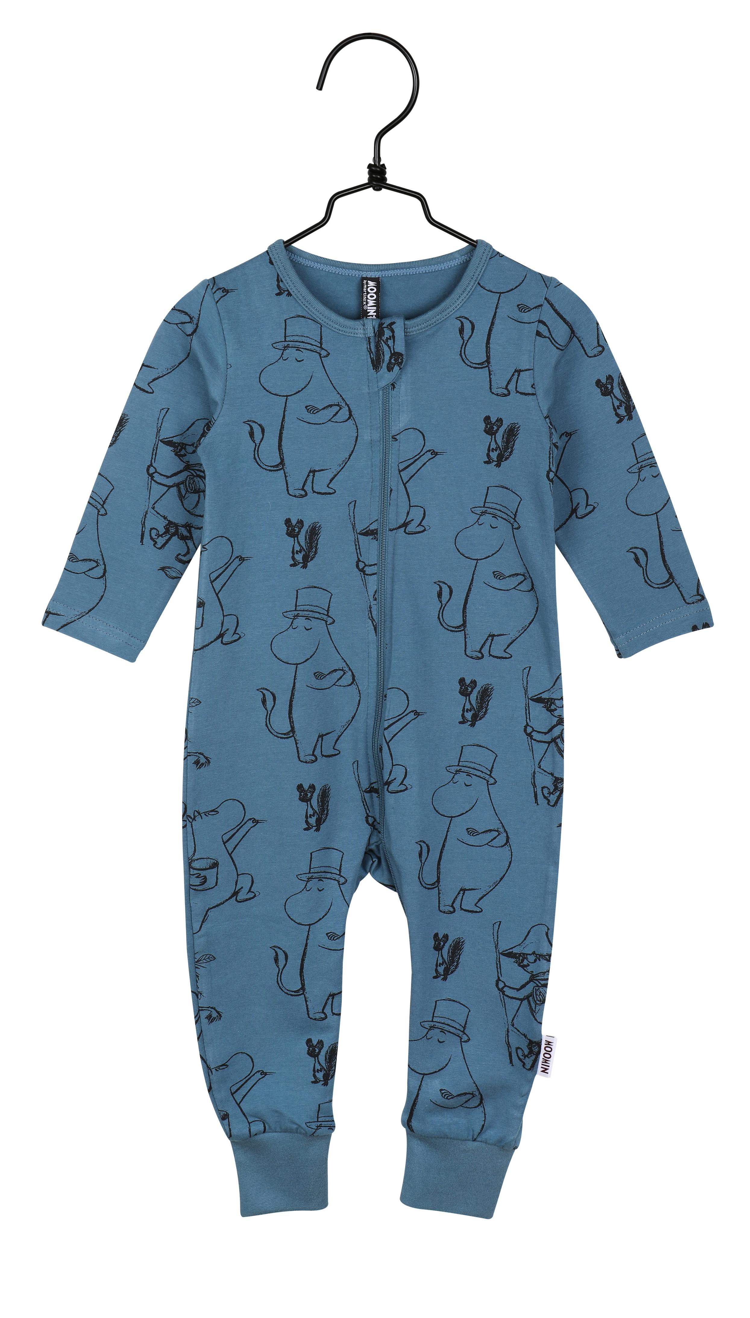 Martinex Moomin Pen Stroke Pyjamas Blue