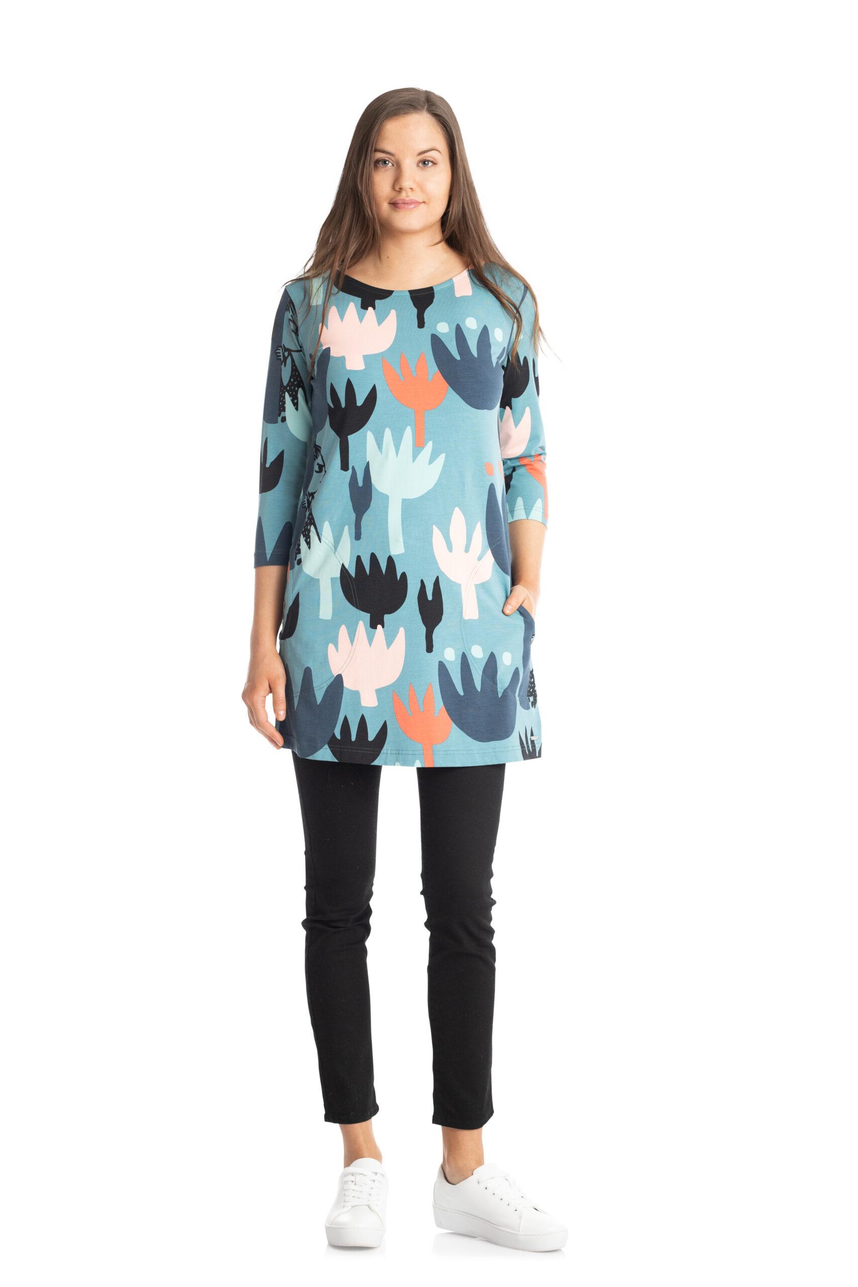 Martinex Moomin Hilda Tunic Tulip Turquoise