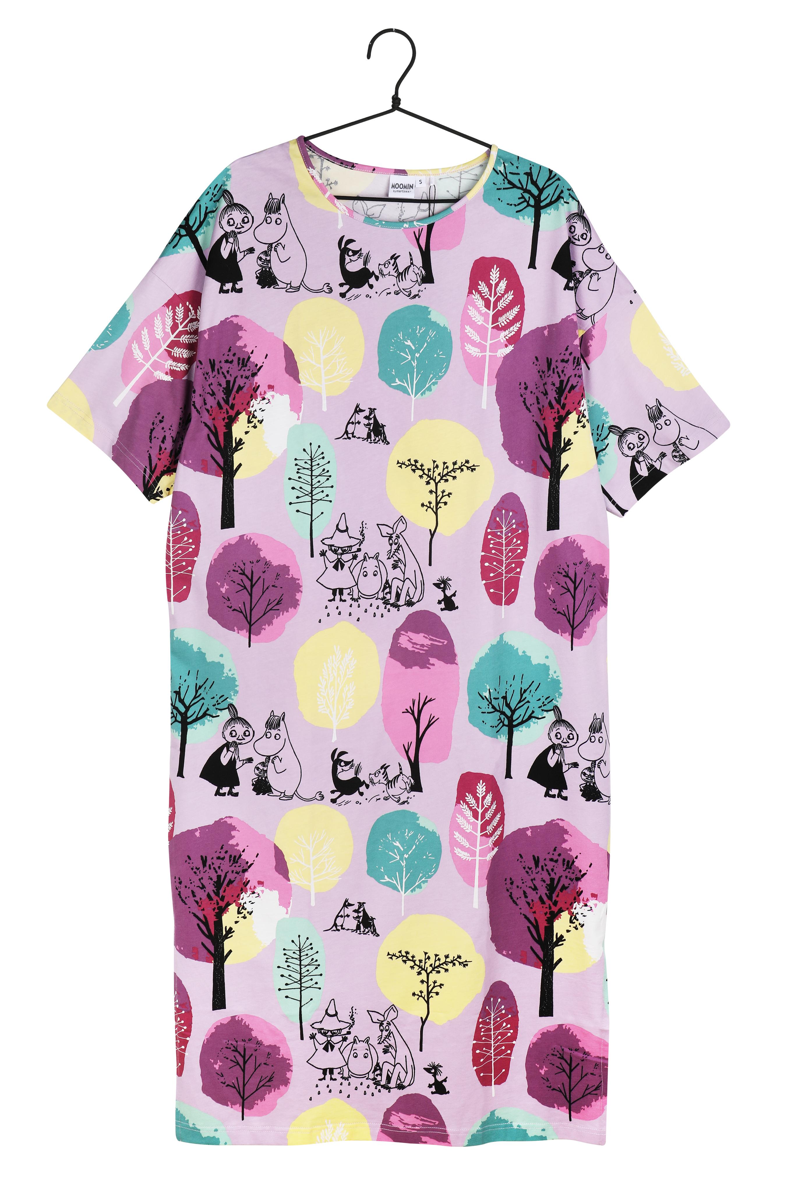Martinex Moomin Orchard Kaftan Short-Sleeve Lavender