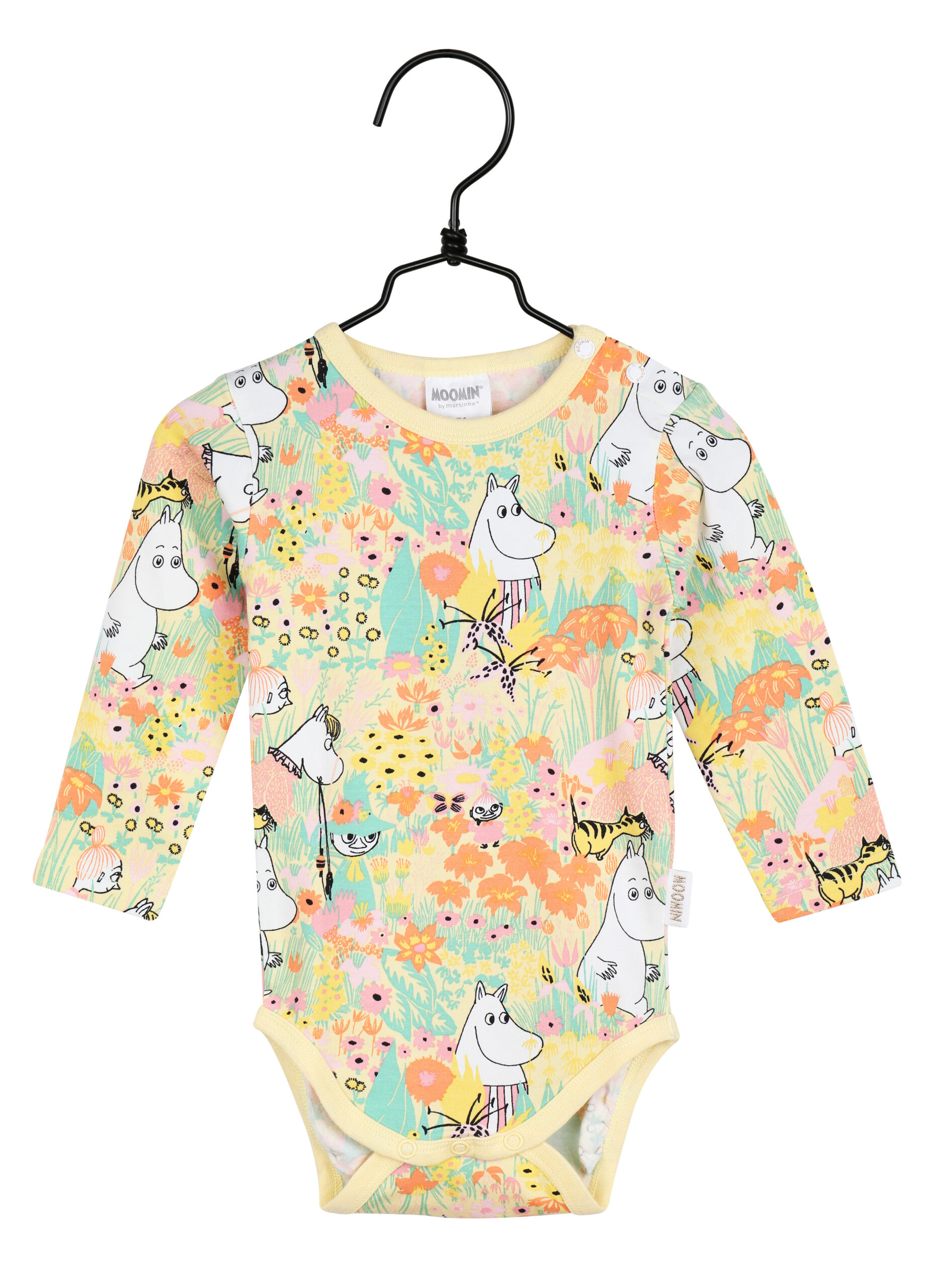 Martinex Moomin Buttercup Bodysuit Yellow