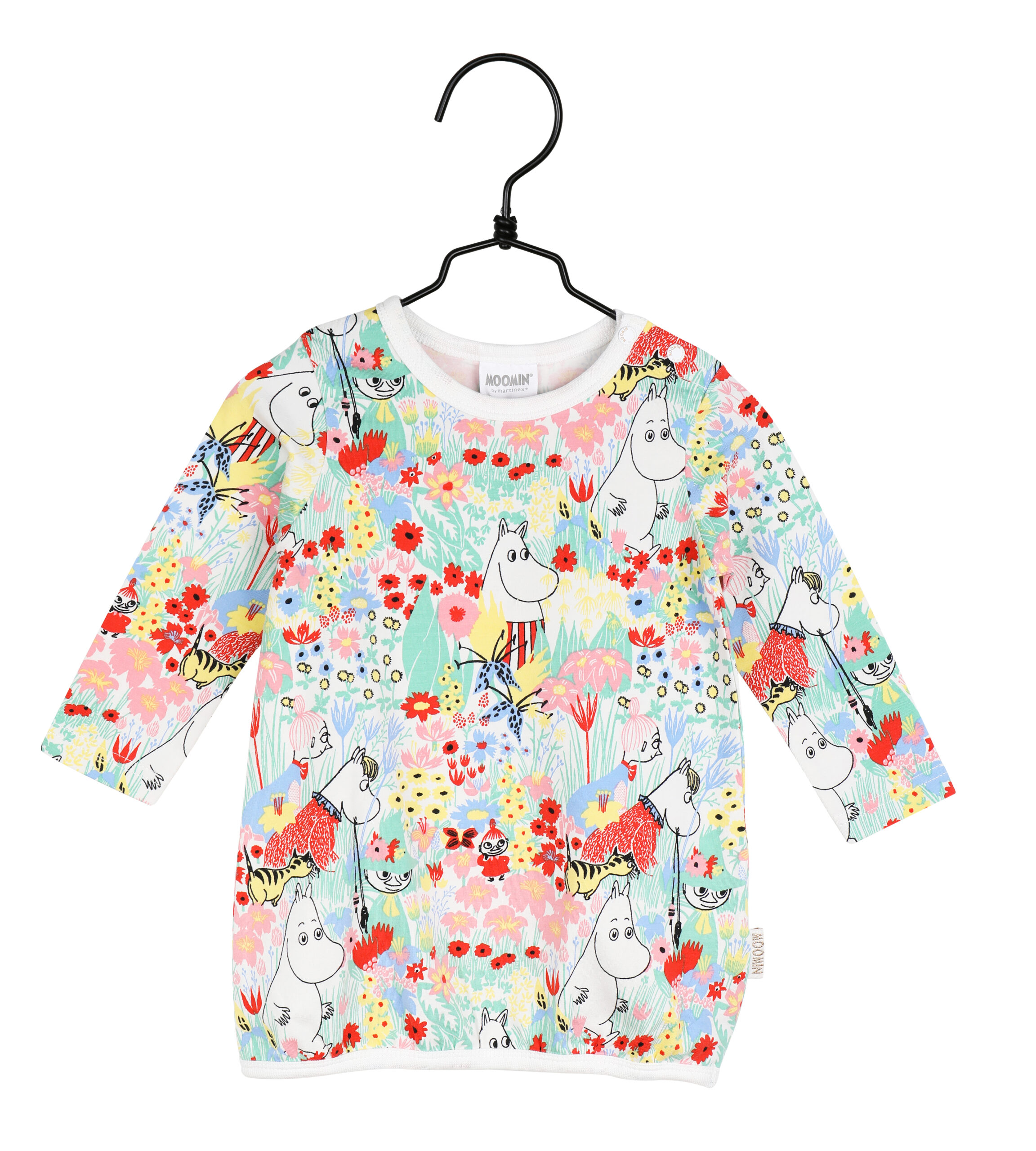 Martinex Moomin Buttercup Tunic Baby Off-White