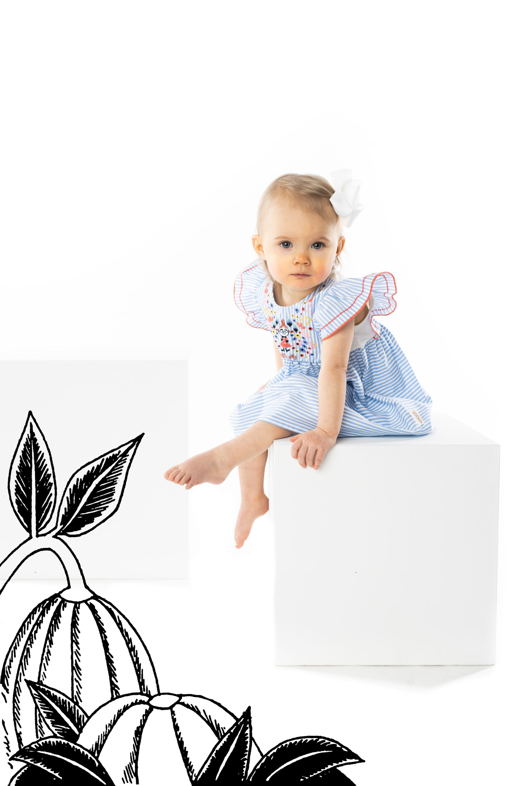 Martinex Moomin Little My Dress Baby Blue
