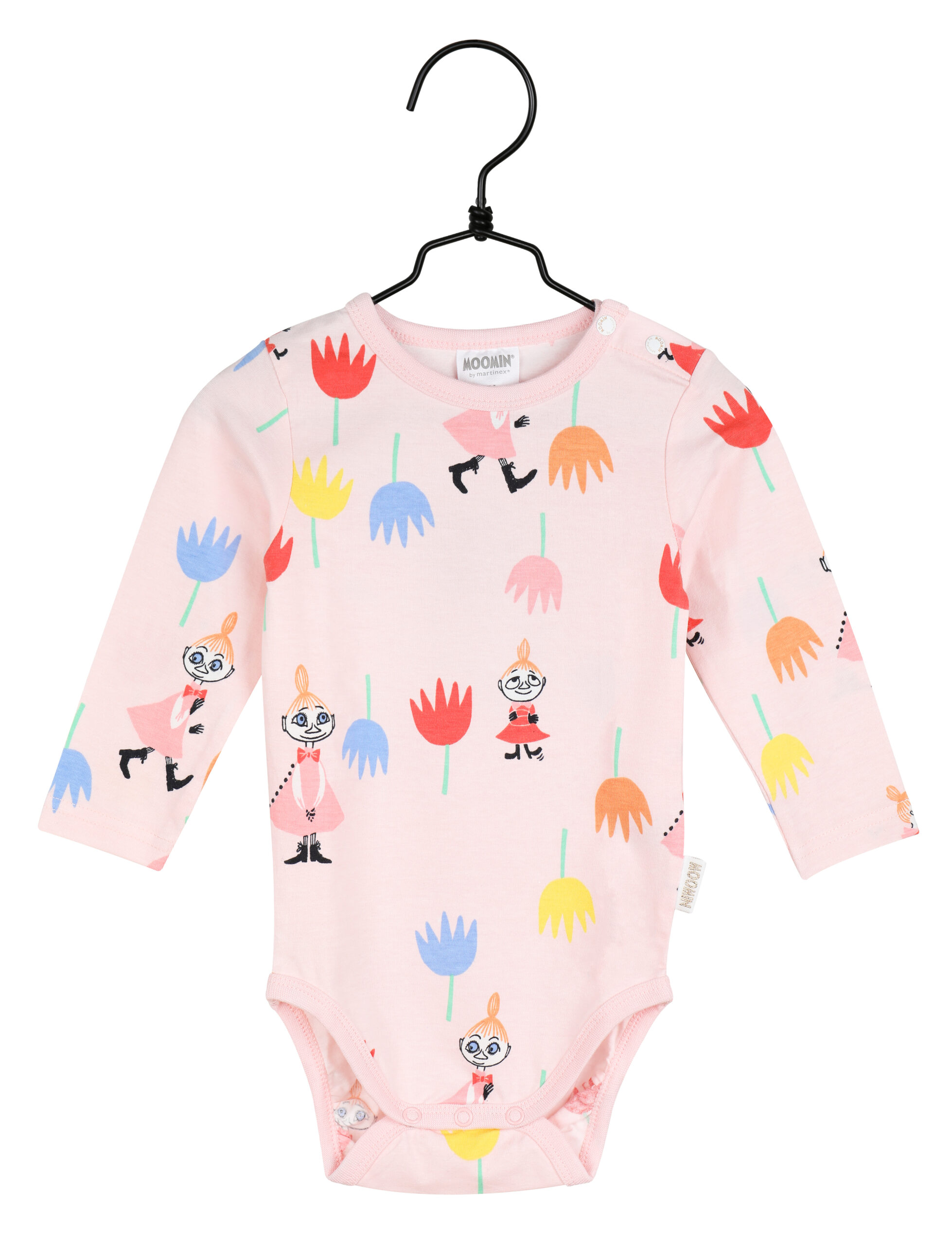 Martinex Moomin Tulips Bodysuit Rose