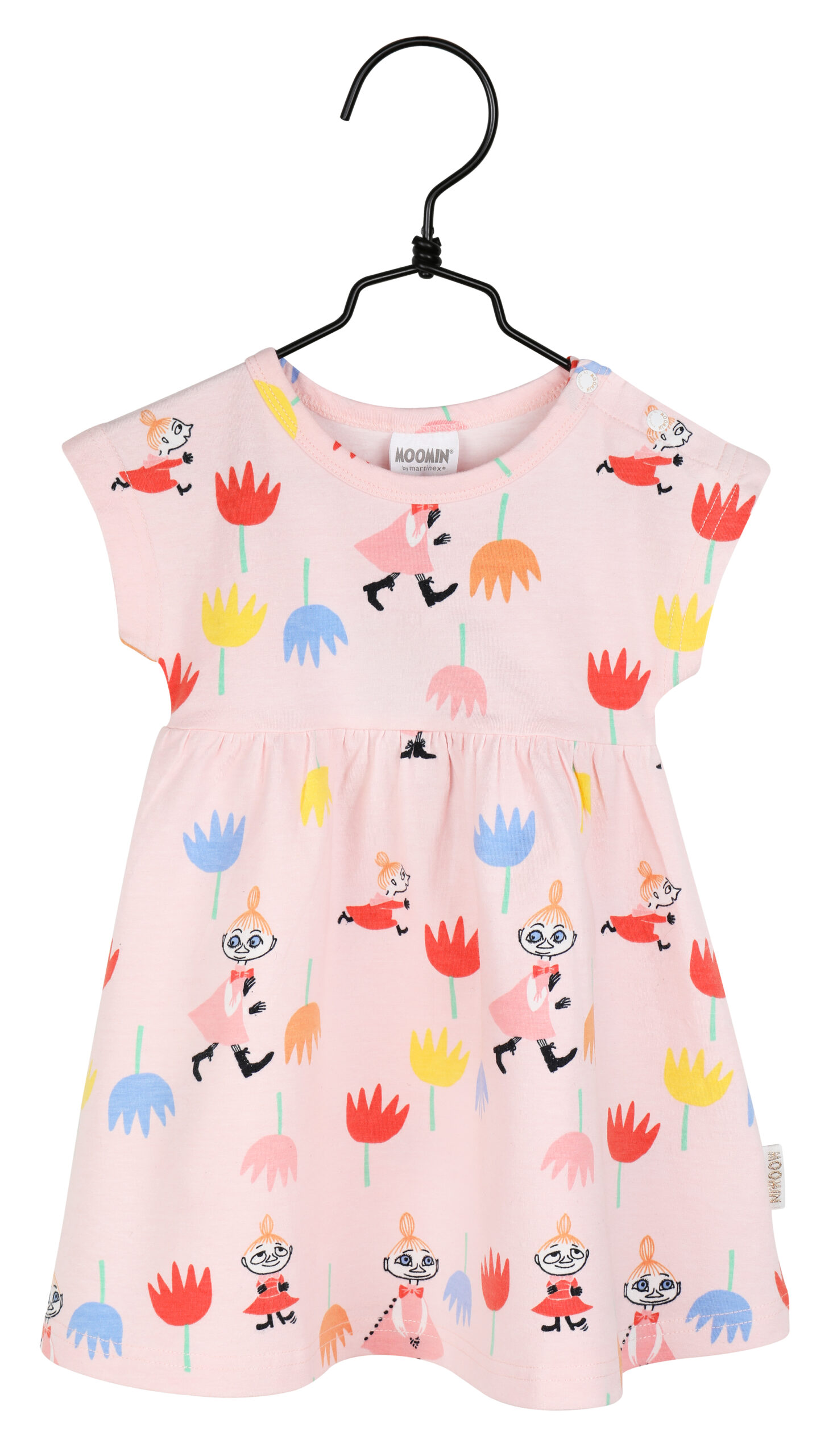 Martinex Moomin Tulips Dress Baby Rose