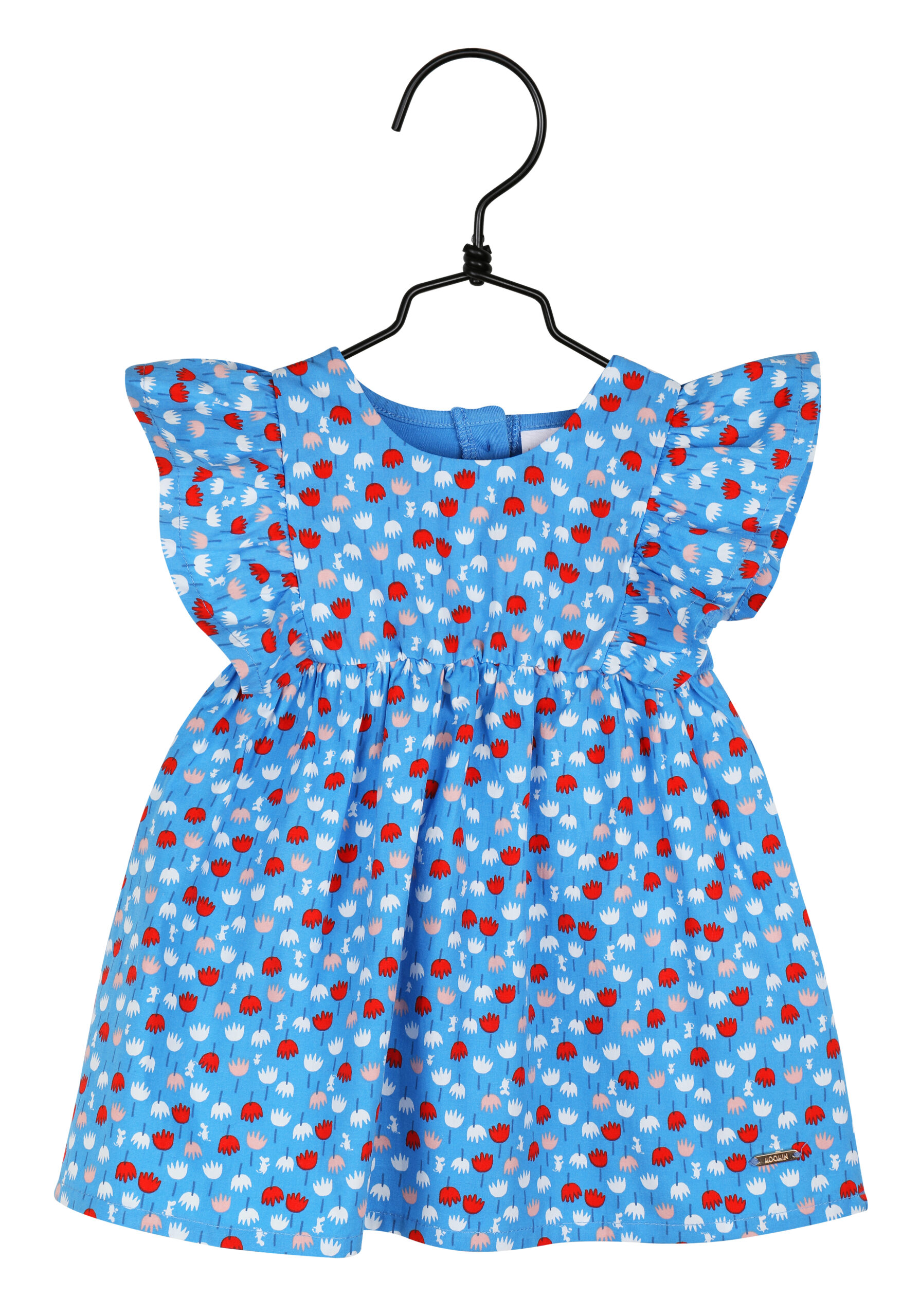 Martinex Moomin Miniflower Dress Baby Blue