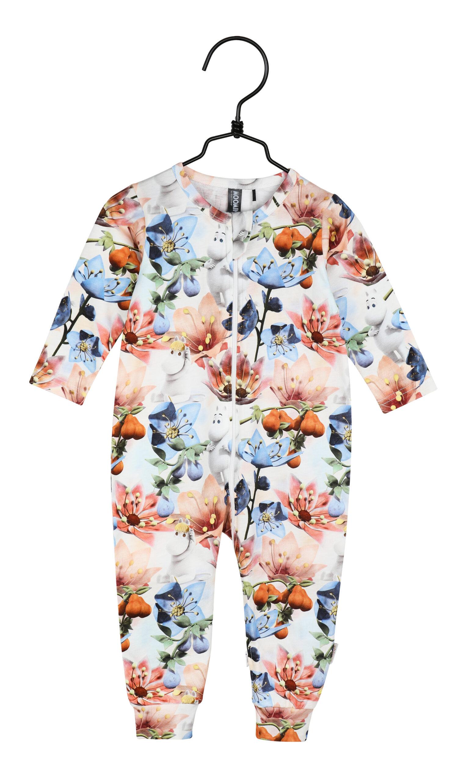 Martinex Moomin Anemone Pyjamas Rose