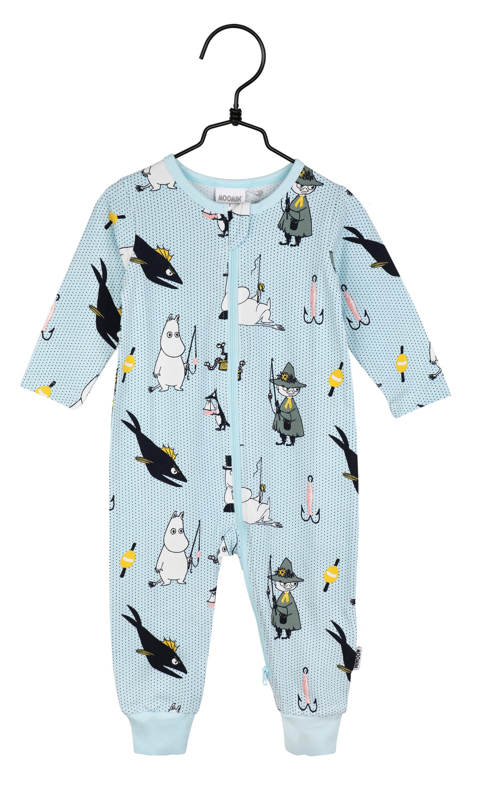 Martinex Moomin Pals Pyjamas Blue