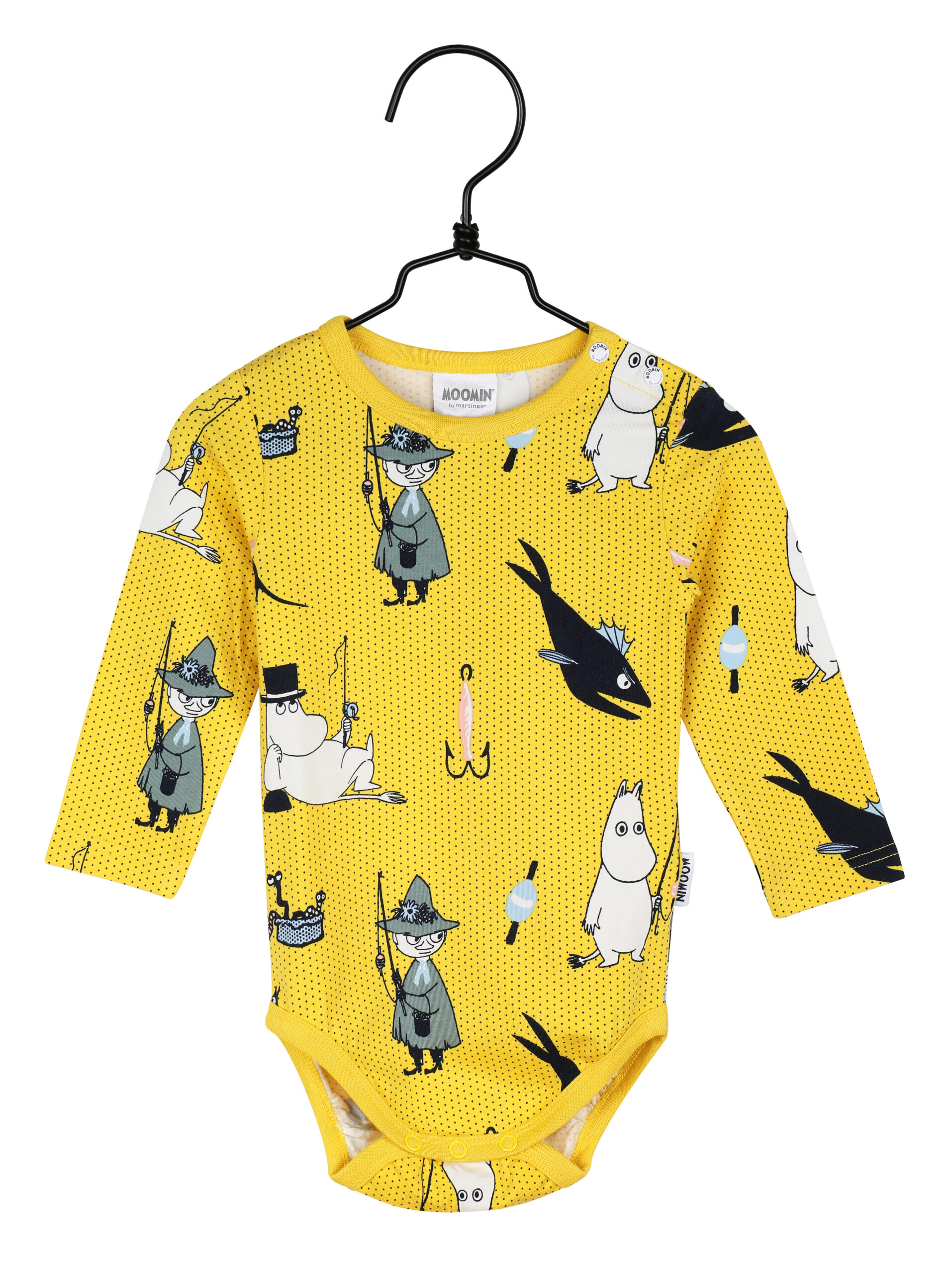 Martinex Moomin Pals Bodysuit Yellow