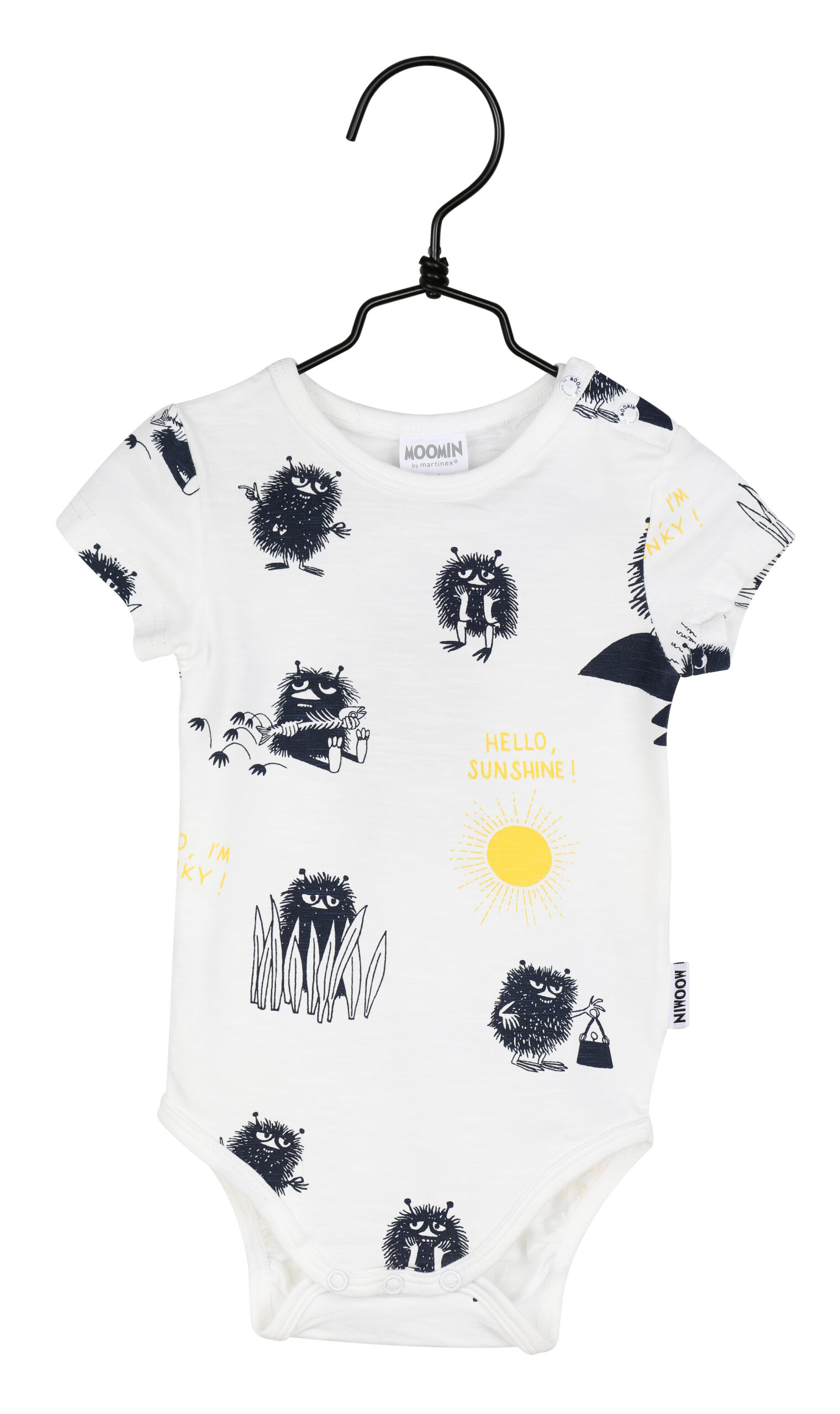 Martinex Moomin Shine Bodysuit Off-White