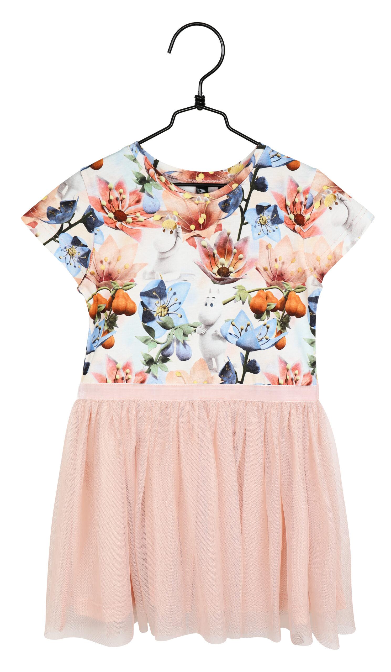 Martinex Moomin Anemone Dress Rose