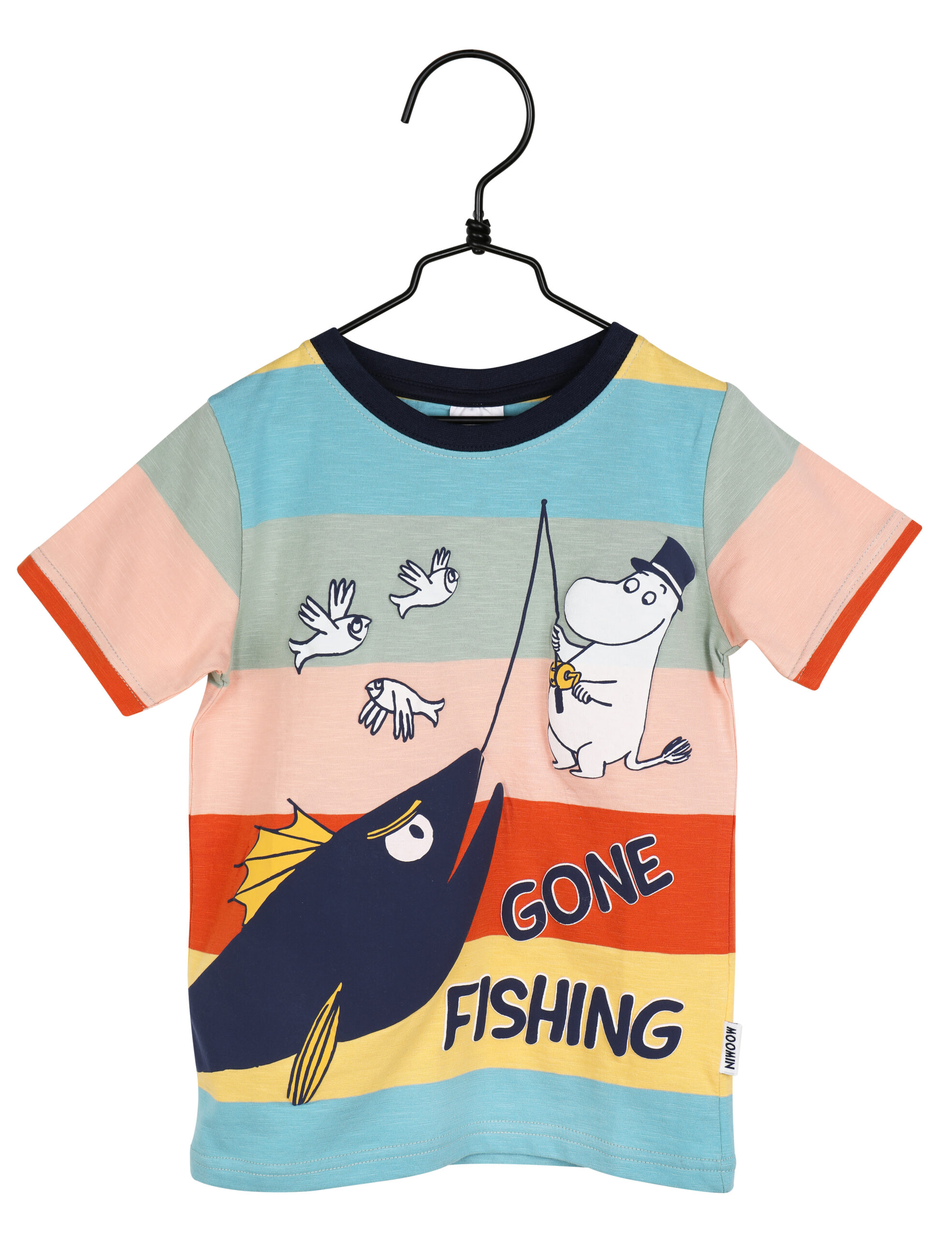 Martinex Moomin Gone Fishing T-Shirt Multicolour