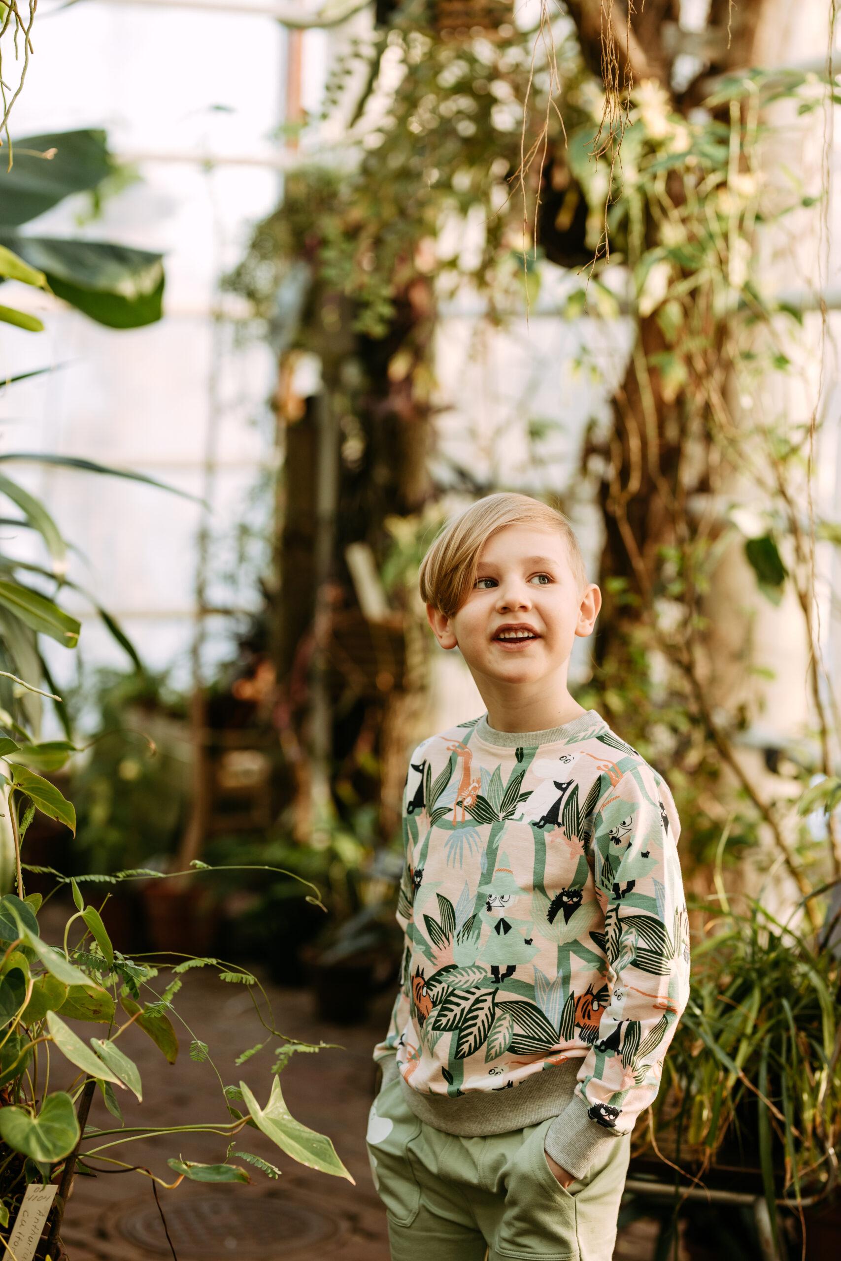Martinex Moomin Tree Grown Sweatshirt Green