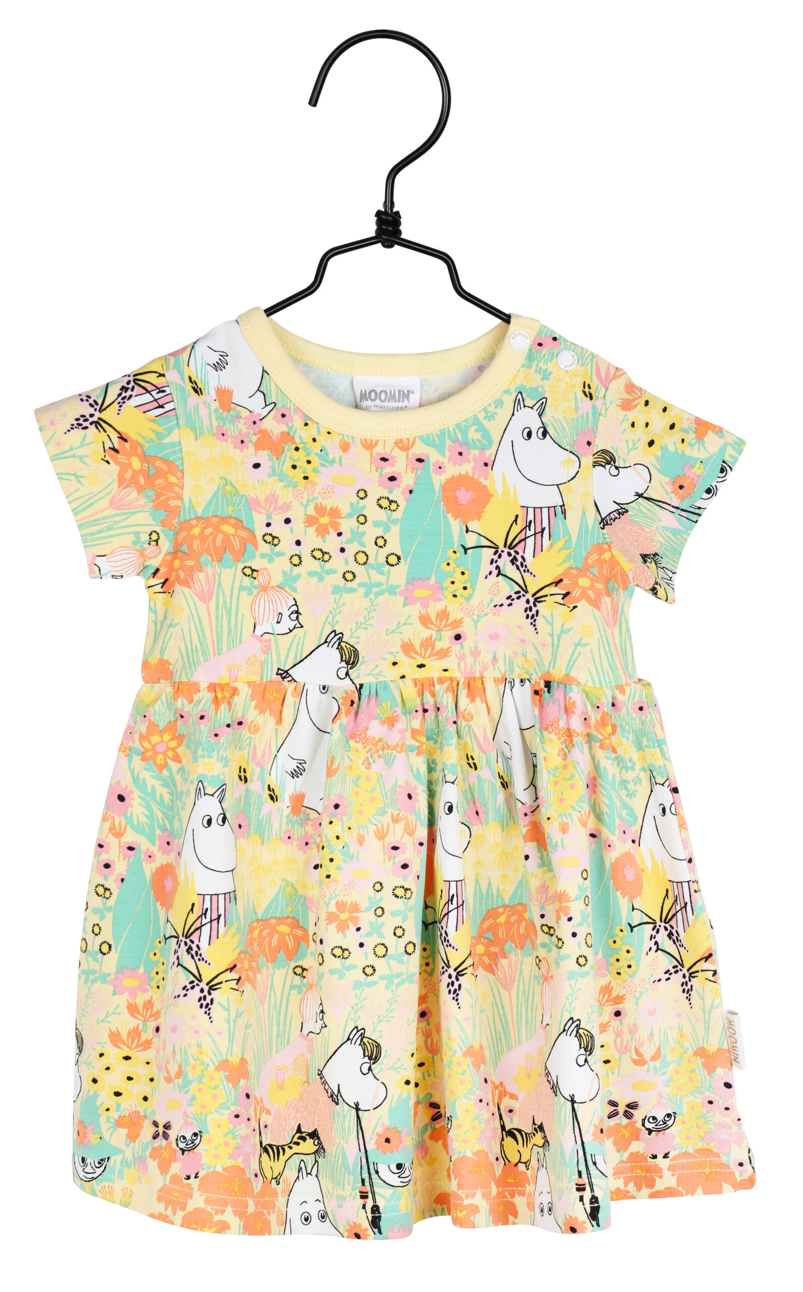 Martinex Moomin Buttercup Bodysuit Dress Yellow