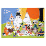 Barbo Toys Moomin Wooden Puzzle
