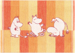 Ekelund | Moomin Stripe 07 30x25cm