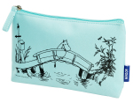 CAILAP COSMETIC BAG WITH MOOMIN TURQUOISE