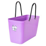 Hinza bag Large Purple – Green Plastic, Moomin friends