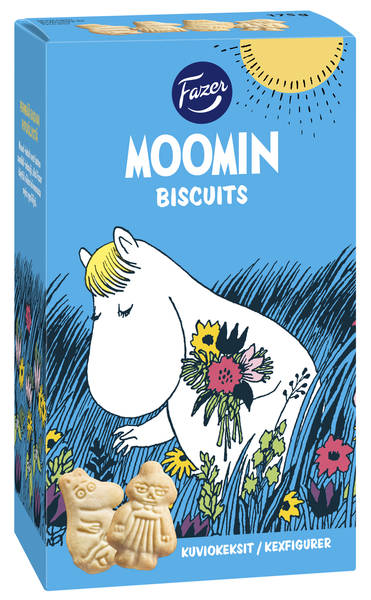 Fazer Moomin shaped biscuits