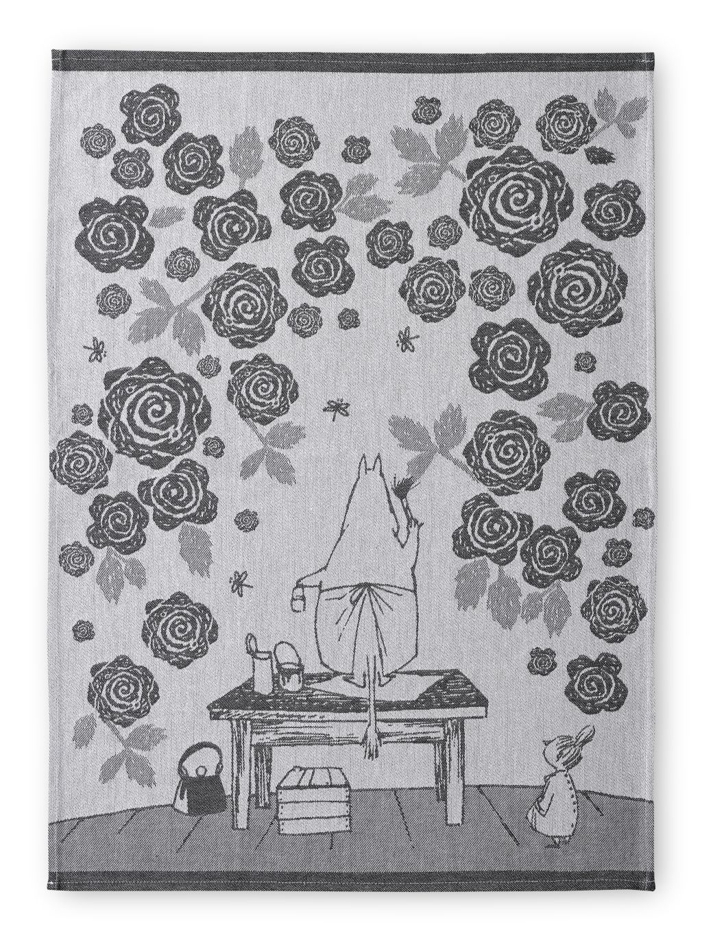 Finlayson Moominmamma's Rose Garden Kitchen Towel