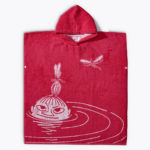 Finlayson PONCHO SWIMMER LITTLE MY RASPBERRY 116-134CM