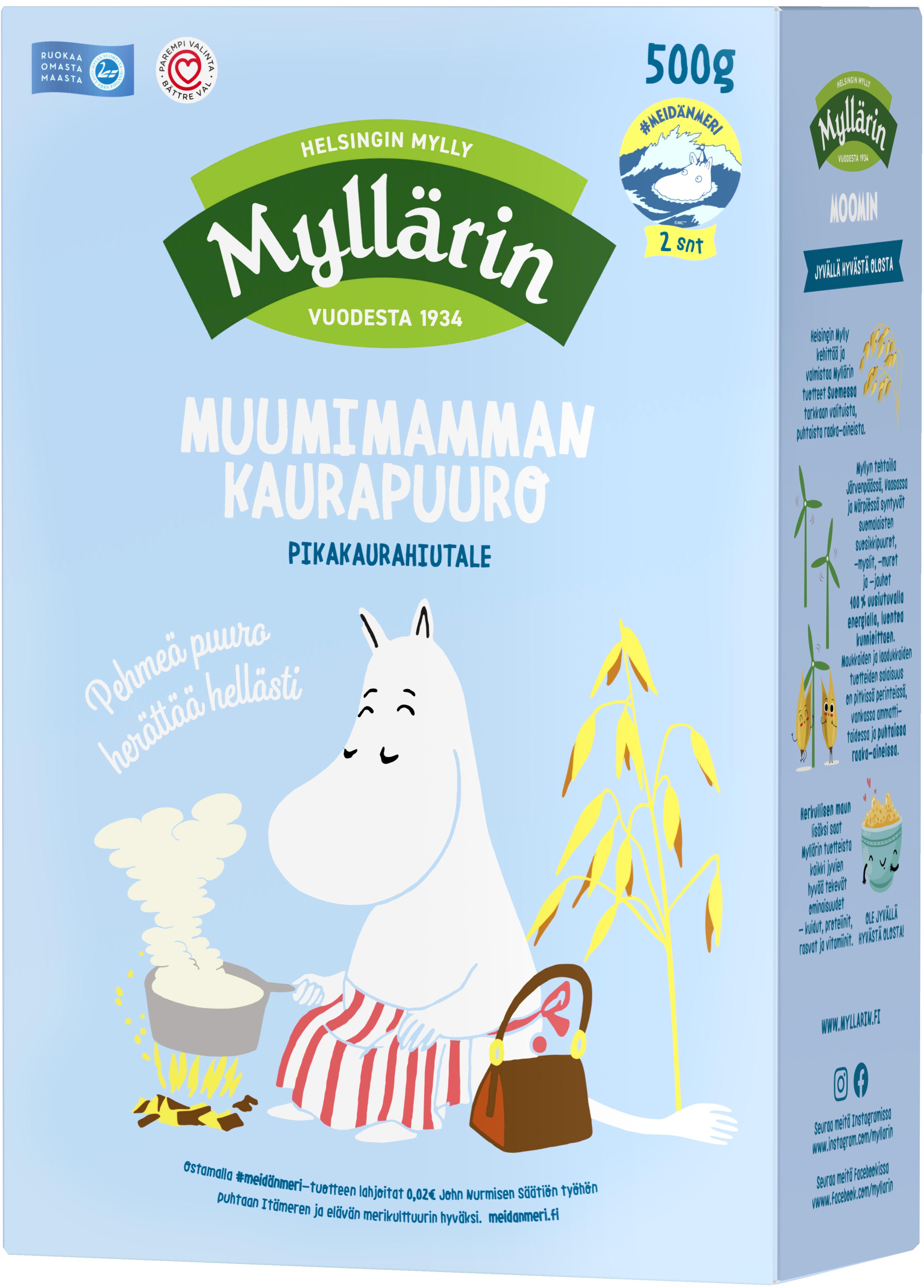 Myllärin Moominmamma's Oatmeal 500 g