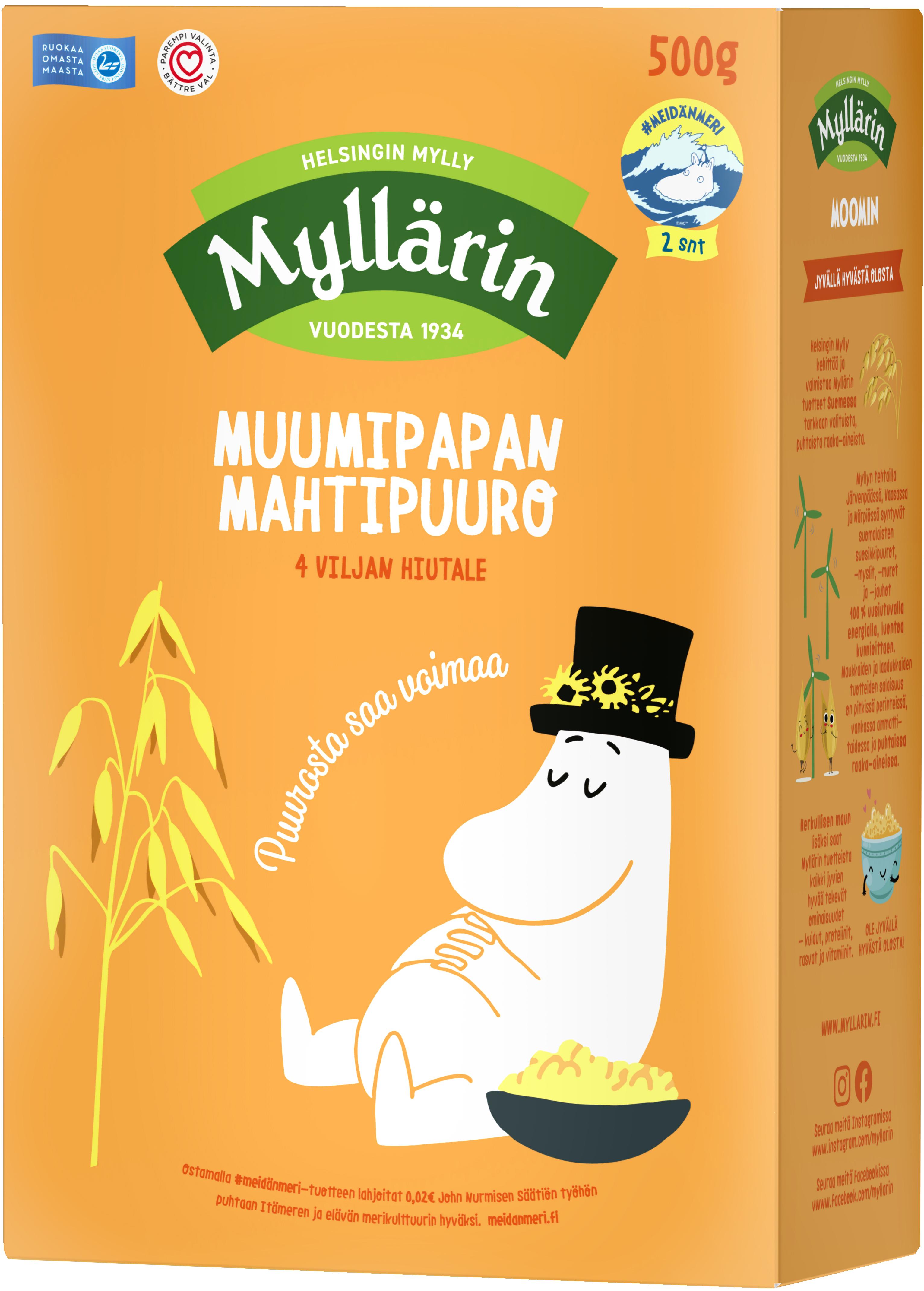 Box of Moominpappa's 4 cereal porridge