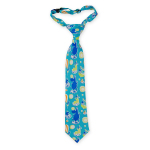 Lasessor Hattara children's necktie turquoise
