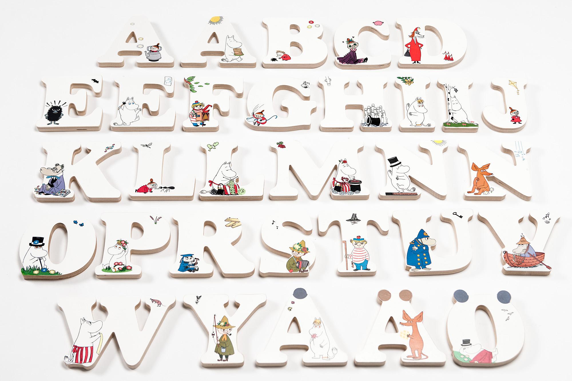 Isoisan Puulelut Moomin Letters