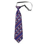 Lasessor adventure children silk tie dark blue