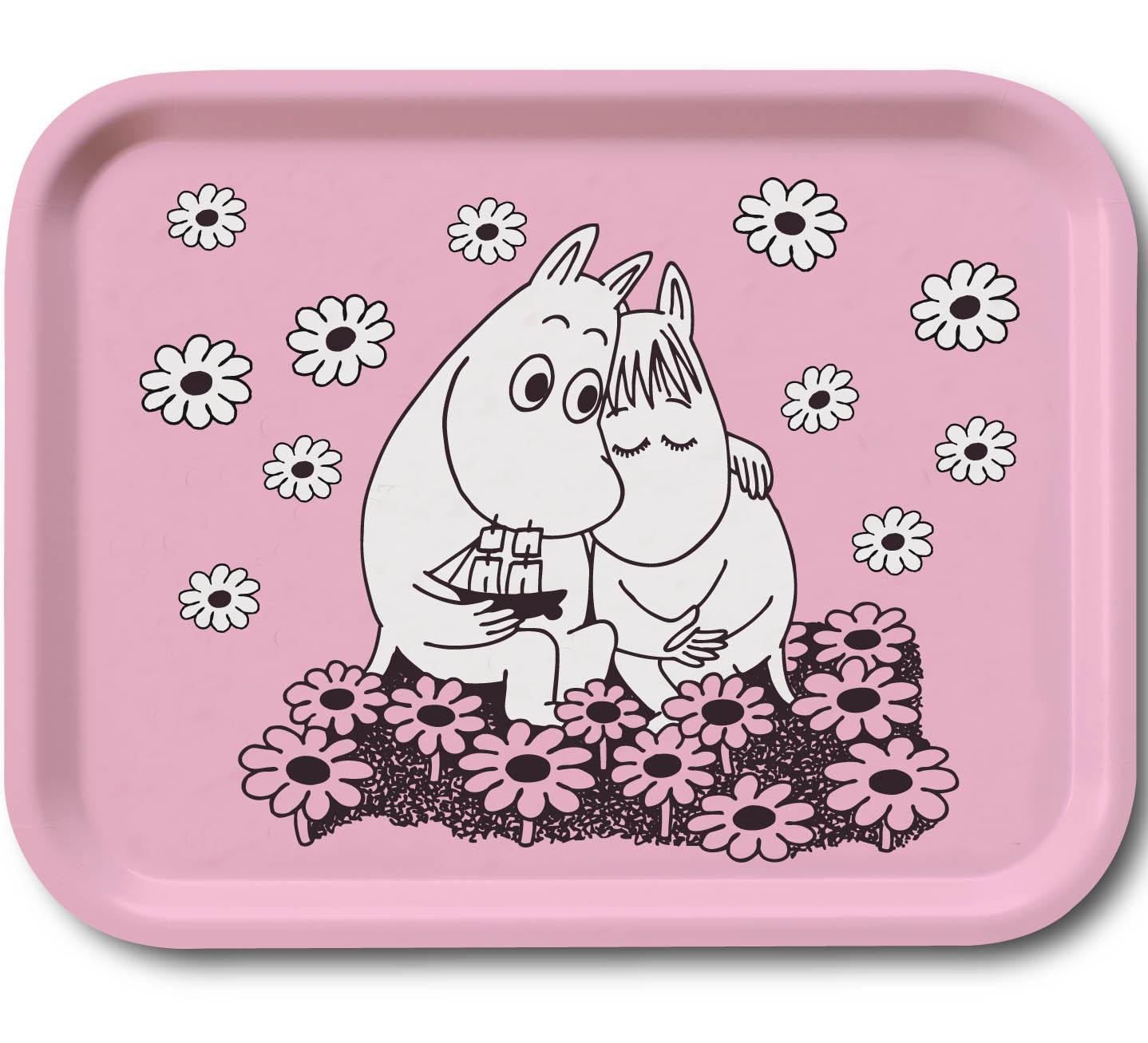 OPTO Tray 27x20 Moomin Love