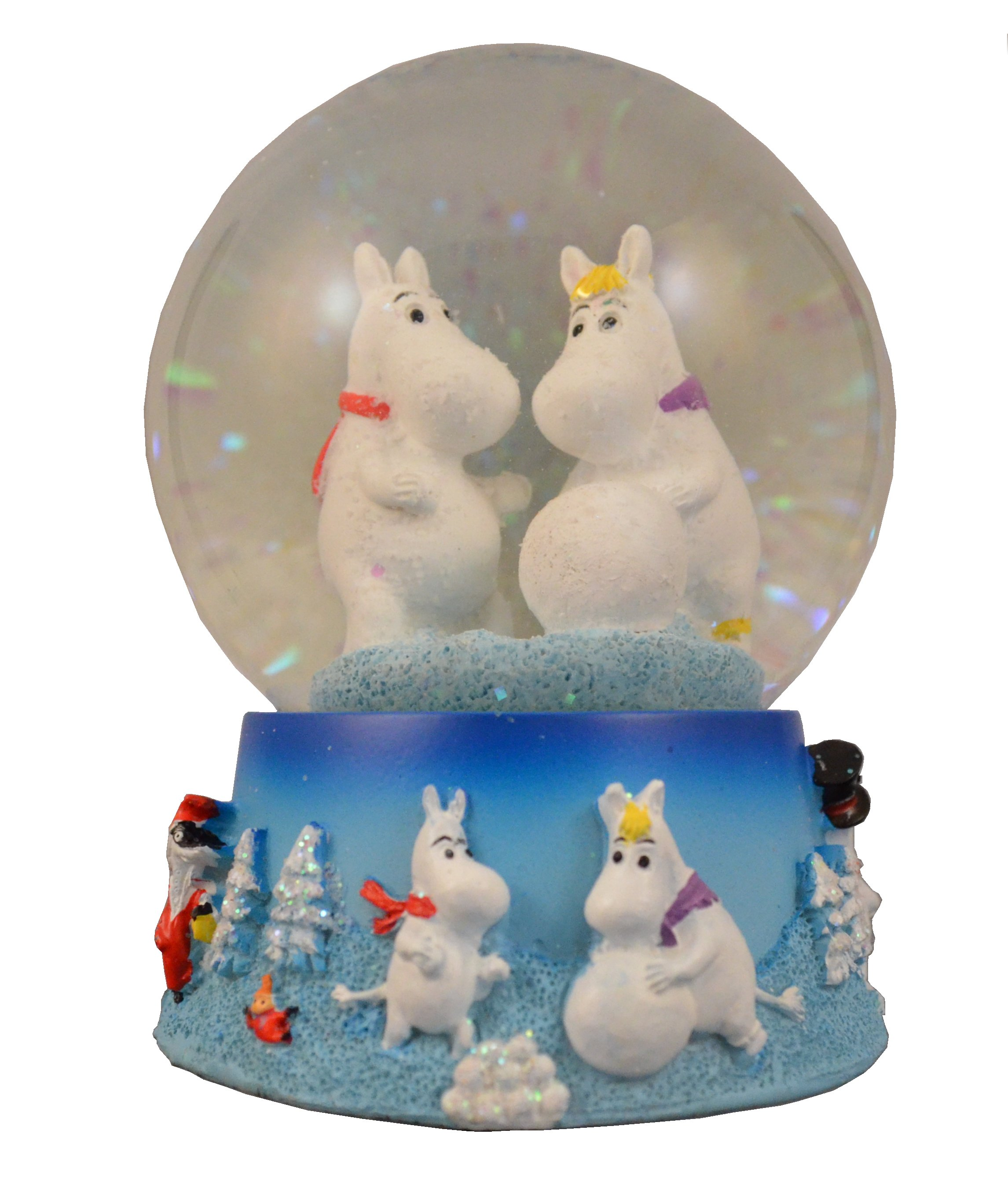 TMF Trade Glass snow globe