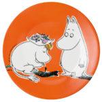 Petit Jour Dessert plate orange