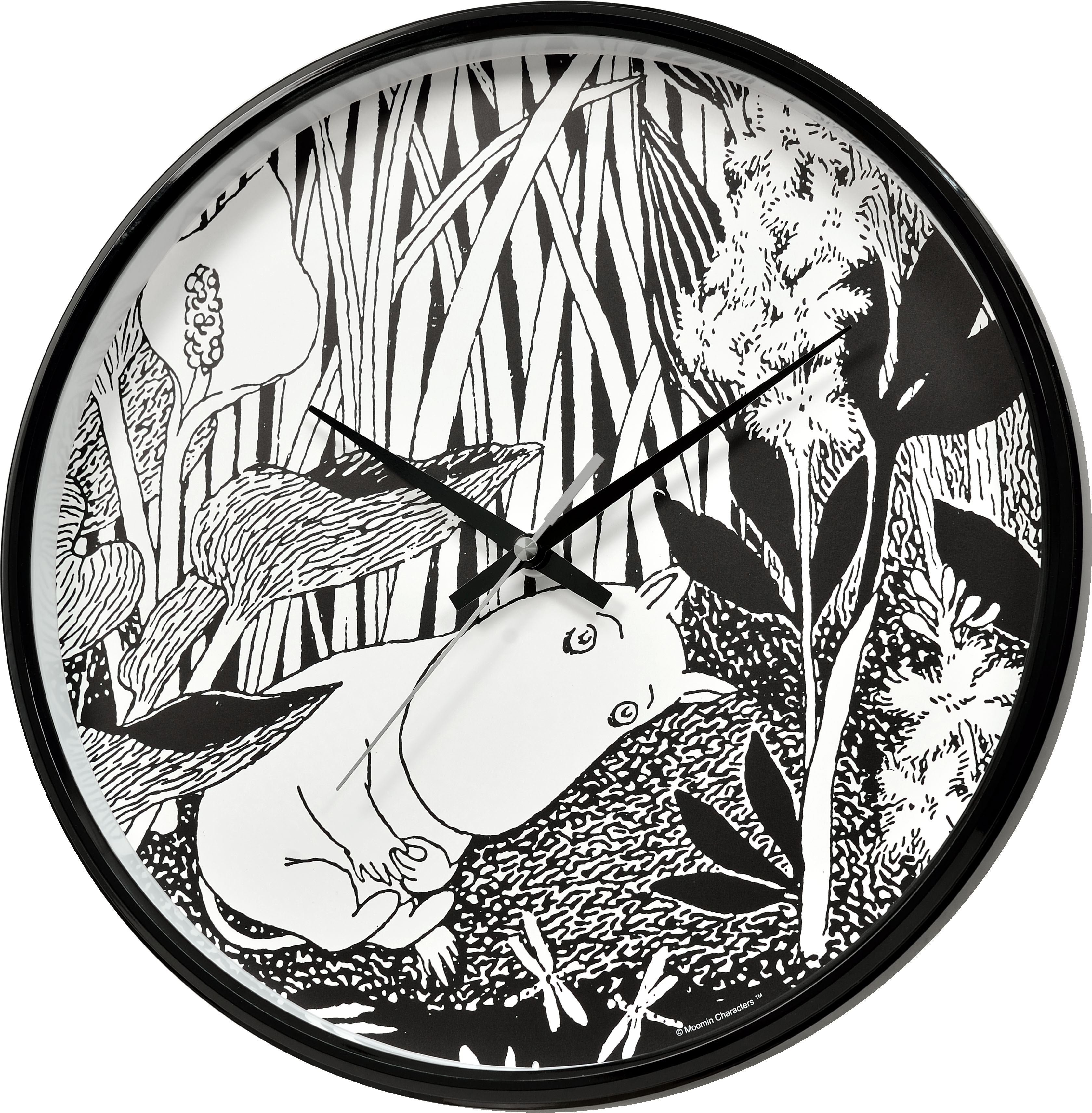 Saurum Wall Clock - Moomintroll Dreaming