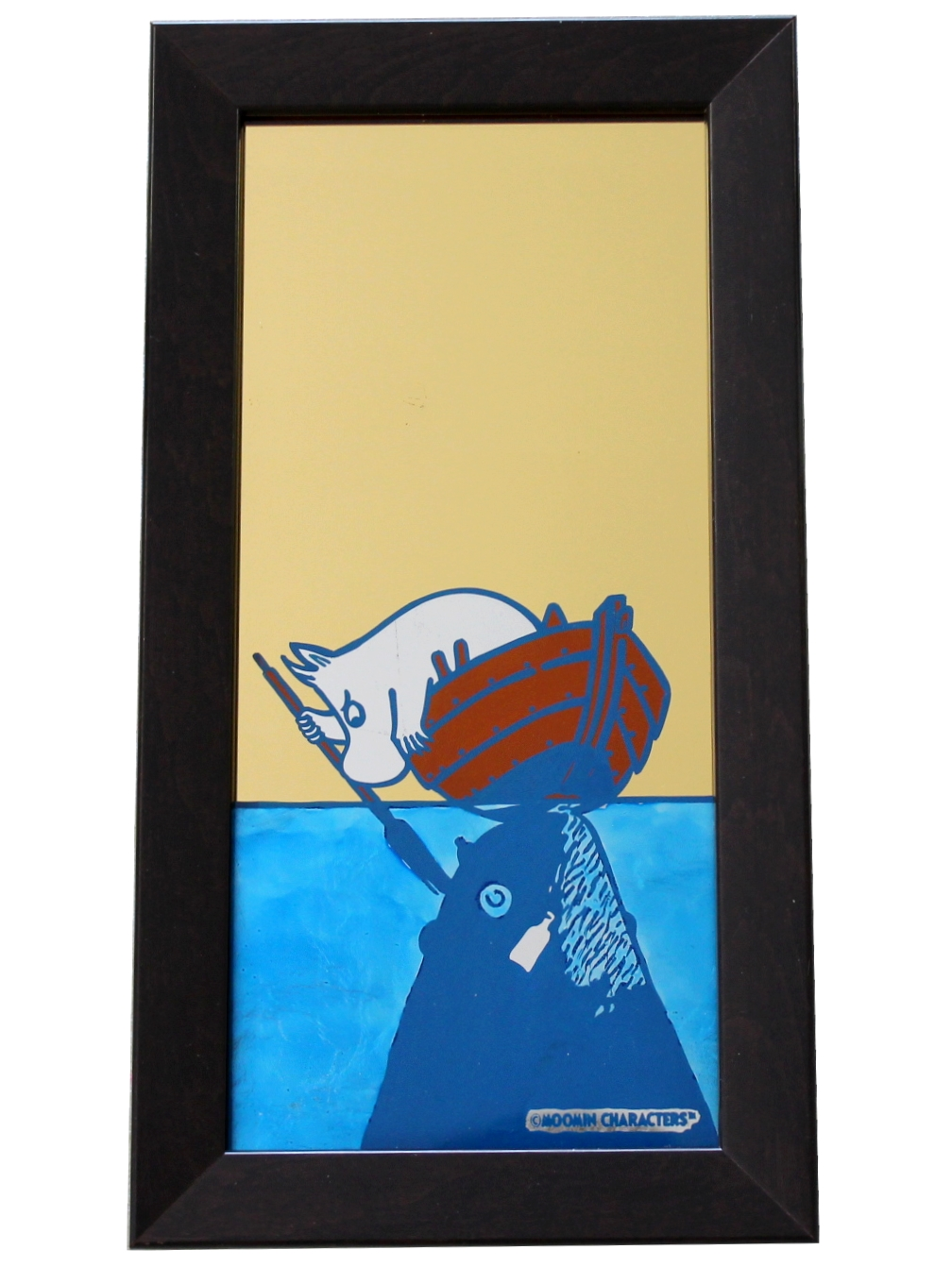 Oslo Skiltmaler Moomin Glass Art | #OurSea Campaign Glass no. 2