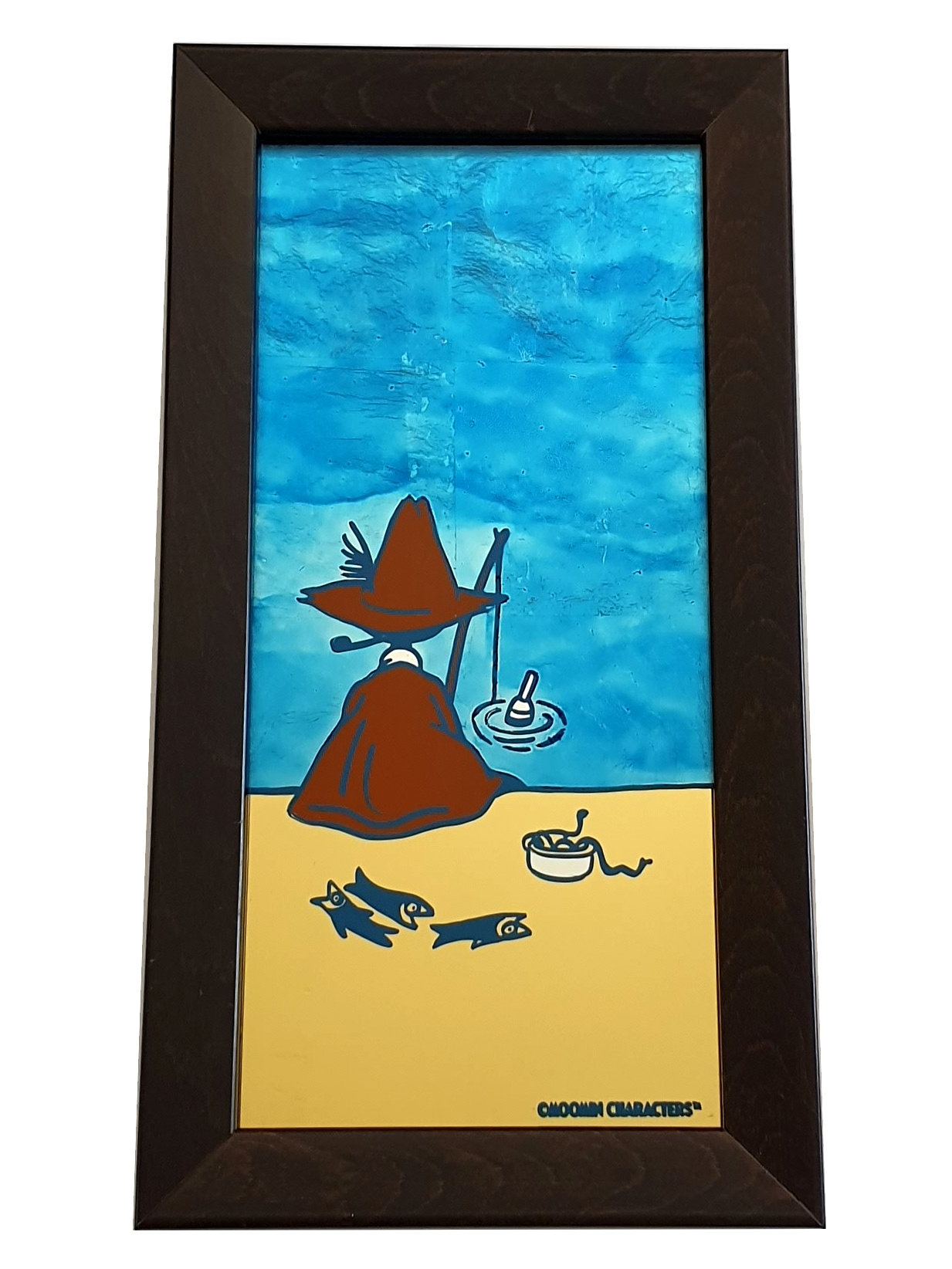 Oslo Skiltmaler Moomin Glass Art | #OurSea Campaign Glass no. 3