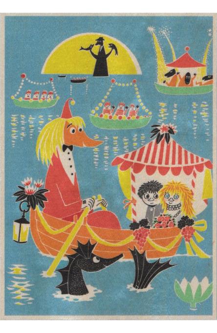 Come to Finland wooden artwork 15 x 21 cm Wedding MU-A5-3
