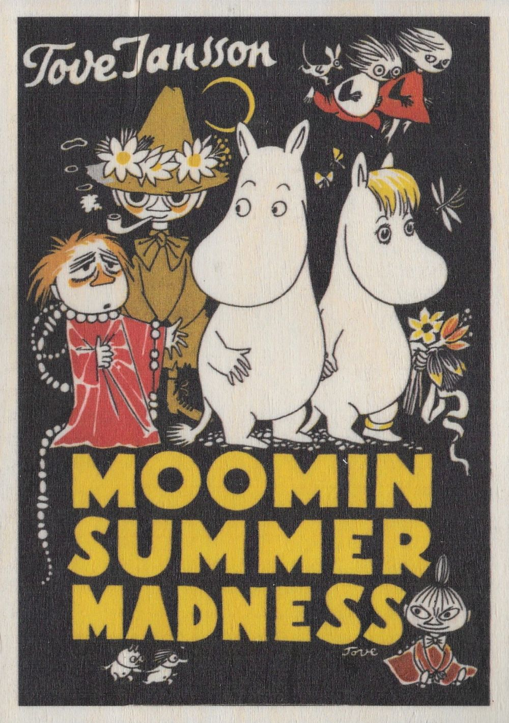 Come to Finland wooden postcard Summer Madness MU37