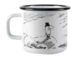 Makia x Muurla Moominpappa and the Sea - Solitude enamel mug 3,7 dl
