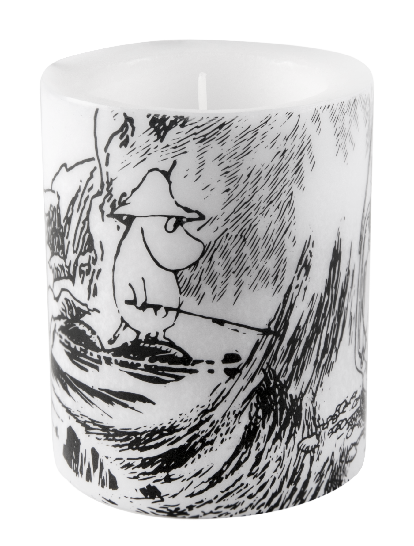 Makia x Muurla - Moominpappa and the Sea - Troll candle 12 cm