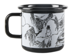 Makia x Muurla Moominpappa and the Sea - Troll enamel mug 3,7 dl