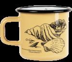 Moominmamma x Makia, Shell - Enamel mug 3,7 dl