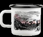 Moominmamma x Makia, Valley - Enamel mug  3,7 dl