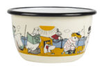Muurla Moomin At the Sea enamel bowl 3 dl