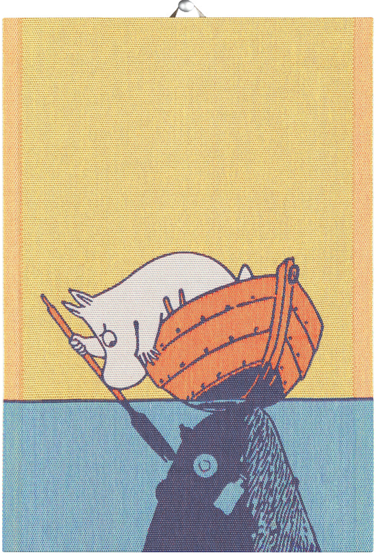 Ekelund Towel Moomin & Boat