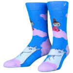 NVRLND Moomin Clouds Crew Socks
