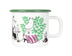 Muurla Moomin Garden - Day in the garden enamel mug 3,7dl