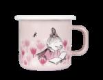 Muurla Moomin Garden - Girls enamel mug 2,5 dl